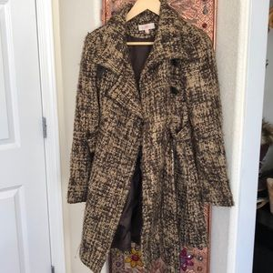 Jennifer Lopez jacket/mini trench